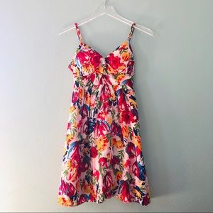 Forever 21 | spaghetti strap colorful design dress